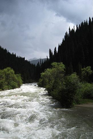 В озеро иссык куль втекают более 80 рек